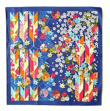 Yagasuri Floral Japanese Cotton Furoshiki Wrapping Cloth TB8