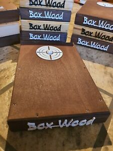 Stompbox stomp box in legno, jack 6.5, Box-Wood