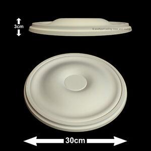 30cm Diameter, Lightweight Ceiling Rose (made of strong resin not polystyrene)