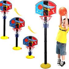 Kids Mini Basketball Stand Hoop Backboard Set Adjustable Stand Training Toy