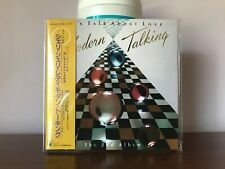 Modern Talking LET'S TALK ABOUT LOVE (Collector's Edition) Japan Mini-LP CD Mint