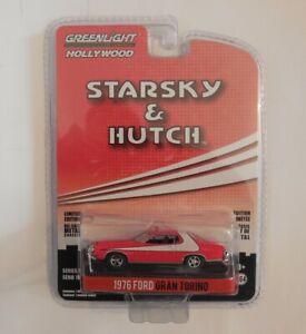 1/64 Greenlight Hollywood Starsky & Hutch 1976 Ford Gran Torino