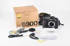 Nikon D300 12.3MP Digital SLR Camera Body Manual Box Software 1908 Shutter V81