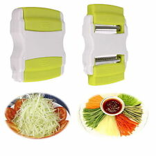 Good Vegetable Potato Carrot Fruit Twister Cutter Slicer Peeler Kitchen Tool lk