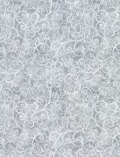 Fabric 100% Cotton Timeless Treasures Grey Breeze C4843