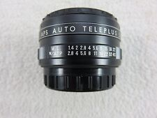 Kenko APS Auto Teleplus 2x Lens Teleconverter With Case Vintage Made In Japan
