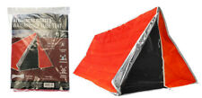 Emergency Outdoor Tube Tent Aluminum Coated Interior  Fire Retardant Material