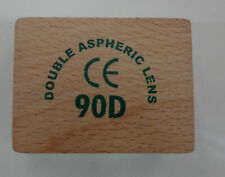 Brand Gss 90d Double Aspheric Lens Ophthalmology In Wood Box Free Ship