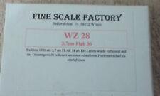 1:72 Dt. 3,7cm Flak 36 selten resinkit
