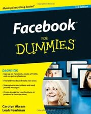 Facebook For Dummies (For Dummies (Computers)),Leah Pearlman, Carolyn Abram