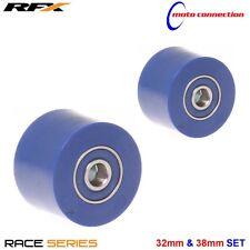 RFX CHAIN ROLLER UPPER & LOWER BLUE YAMAHA YZF250 YZF450 YZ125 YZ250 2002 - 2017