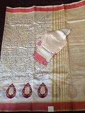 Bollywood Indian Beautiful Embroidered Party Wear Saree