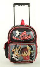 "Nickelodeon Go Diego Go Small 12"" Boys Rolling BackPack Kid Rolling School Bag"