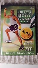 Billy's Boot Camp Elite Mission Three Rock Solid Abs DVD Billy Blanks !!!
