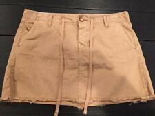 Gap Limited Edition sz 4 Vtg Mini Skirt Camel Color 5 Pockets