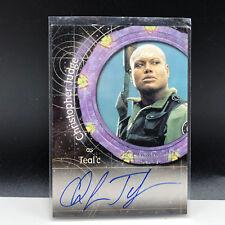 STARGATE AUTOGRAPH CARD SG-1 signed auto A21 Teal'c tealc Christopher Judge RARE
