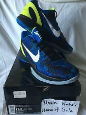 Nike Kobe 2011 Zoom VI 6 'Blue Camo', Size 11.5, DS