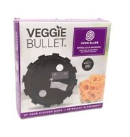 Veggie Bullet Udon Blade 5mm Steel Blade Makes the Perfect Noodle New in Box