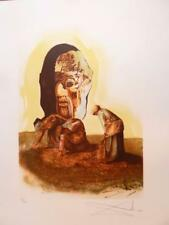 SALVADOR DALI 'ANGELUS DE MILLET' HAND SIGNED & NUMBERED LITHOGRAPH #125/200
