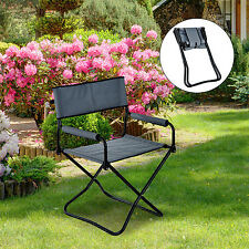 Folding Camping Chair Portable Fishing Seat Garden Lightweight Outdoor Picnic