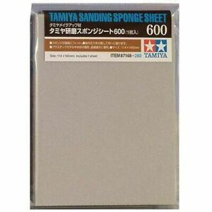 TAMIYA 87148 Sanding Sponge Sheet 600 - Tools / Accessories