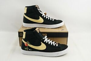 Nike Blazer Mid 77 Pomegranate CI1166-001 Black Casual Shoe Men's Sz 12 Sneakers