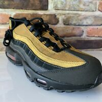 Nike Air Max 95 Size 11.5 Black Cosmic Clay Wheat Men's Running Shoes AT9865-014