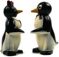 Willie and Millie Vintage Plastic Salt and Pepper Shakers Vintage Collectible