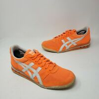 Asics Onitsuka Tiger Ultimate 81 Womens Orange Shoes HN567 Size 7.5