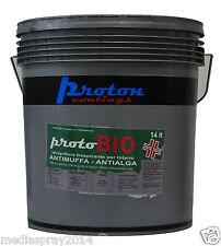 Idropittura antimuffa lavabile traspirante antialga PROTOBIO 14 lt