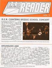 R.E.M. Fanclub Reader 2001 Vol.3