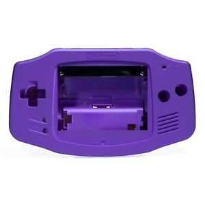 Game Boy Advance Shell Case Pearl Purple IPS Replacement GBA RetroSix ABS