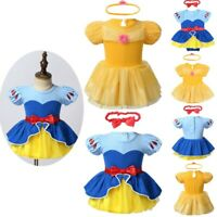 Infant Baby Girls Dress Princess Romper Halloween Fancy Dress Up Costume Outfit
