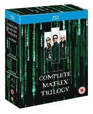 The Complete Matrix Trilogy (3 discs) (Blu-Ray) - UK STOCK - NEW SEALED