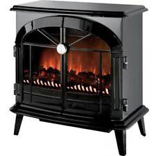 Dimplex Skg20bl Stockbridge OPTIFLAME Freestanding Black Electric Fire Stove