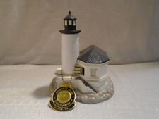 2001 Lefton Historic American Lighthouse Coguille River Oregon 13906