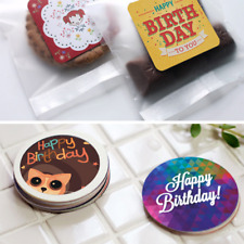 38pcs Happy Birthday Stickers Scrapbooking Decorations  Labelsc Handmade Gifts
