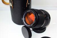 RARE MC CARL ZEISS JENA SONNAR ZEBRA DDR Germany F3.5/135 mm SLR lens M42