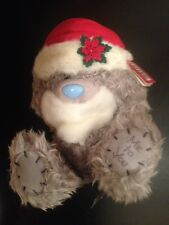 BN-Me To You Noël-Tatty Teddy Bear avec Noël chapeau et barbe