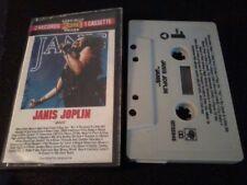 "JANIS JOPLIN ""Janis"" 2-On-1 music cassette tape POST FREE"