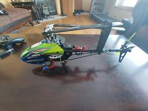 Blade 300 cfx helicopter lots of parts and upgrades