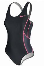 Nike Women's Triathlon Fast Back Tank Tri SwimSuit Xs Black/Pink Nwt $72