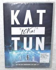 KAT-TUN 10TH ANNIVERSARY LIVE TOUR 10Ks Taiwan 2-DVD+mini poster