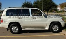 1998-2007 Lexus LX470 LX 470 4Pc Chrome Pillar Post Stainless Steel Trim