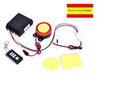 12V Alarma Antirrobo de Moto con 1 Mando Distancia Sistema Seguridad vibración