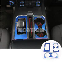 Inner Console Gear Box Water Cup Holder Trim Cover For Ford F150 F-150 2015-2019