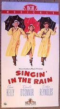 Singin' in the Rain VHS Gene Kelly Debbie Reynolds