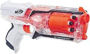 Strongarm Nerf N-Strike Elite Blaster -- Rotating Barrel Slam Fire 6 Elite Darts