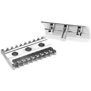 Muhle R41 OPEN Comb Double Edge Safety Razor Head - Free UK P&P
