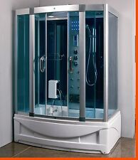 Steam Shower Whirlpool Cabin,Bluetooth.6 Year US Warranty. New Model 2017